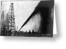 Texas: Oil Derrick, C1901 Greeting Card by Granger