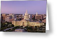 Texas State Capitol Greeting Card by Jeremy Woodhouse