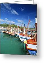 Thailand, Koh Phangan Greeting Card by William Waterfall - Printscapes