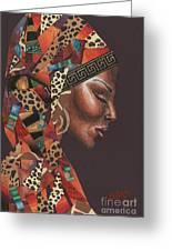 Thank You Angela Greeting Card by Alga Washington