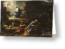 The Agony in the Garden Greeting Card by Guiseppe Cesari