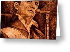 The American Legend Greeting Card by Igor Postash
