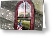 The Attic Window Greeting Card by John  Williams