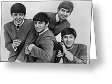 The Beatles, 1963 Greeting Card by Granger