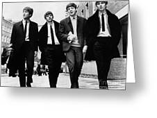 THE BEATLES Greeting Card by Granger