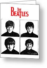 The Beatles No.12 Greeting Card by Caio Caldas