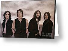 The Beatles Greeting Card by Paul Meijering