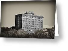 The Bethlehem Hotel Greeting Card by Bill Cannon