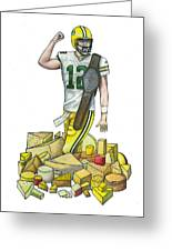 The Big Cheese Greeting Card by Steve Weber