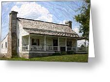 The Bottom House  - Perryville Ky Greeting Card by Thia Stover