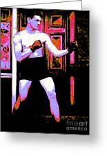 The Boxer - 20130207 Greeting Card by Wingsdomain Art and Photography