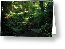 The Bridge Home Greeting Card by Cliff Hawley