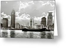 The Bund - Old Shanghai China - A Museum Of International Architecture Greeting Card by Christine Till