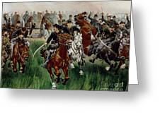 The Cavalry Greeting Card by WT Trego