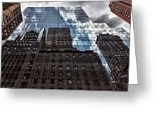 The City Greeting Card by Robert Ullmann