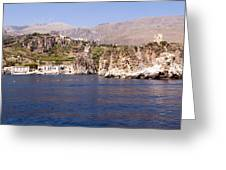 The Coast Of Zingaro Reserve Greeting Card by Focus  Fotos