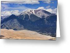 The Colorado Great Sand Dunes  125 Greeting Card by James BO  Insogna