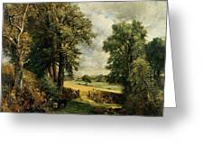 The Cornfield Greeting Card by John Constable