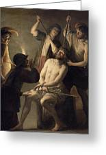 The Crowning With Thorns Greeting Card by Jan Janssens