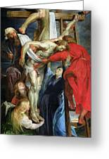 The Descent From The Cross Greeting Card by Rubens