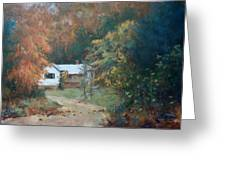 The Dixon Place Greeting Card by Ed Gowen
