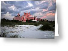 The Don Cesar Greeting Card by David Lee Thompson
