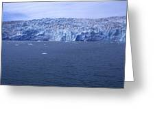 The Edge Of Columbia Glacier, Alaska Greeting Card by Stacy Gold