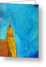 The Empire State Greeting Card by Habib Ayat