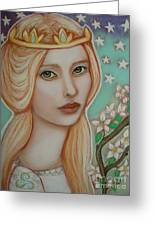 The Empress Greeting Card by Tammy Mae Moon