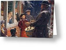 The Entertainer  Greeting Card by Percy Tarrant
