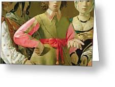 The Fortune Teller Greeting Card by Georges de la Tour
