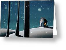 The Frost Greeting Card by Cindy Thornton