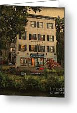 The Gallery Greeting Card by Colleen Kammerer