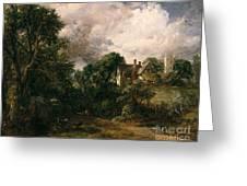 The Glebe Farm Greeting Card by John Constable