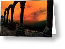 The Gloaming Greeting Card by Paul Wear