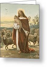 The Good Shepherd Greeting Card by John Lawson