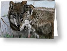 The Greeting Greeting Card by Deb LaFogg-Docherty