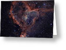 The Heart Greeting Card by Charles Warren