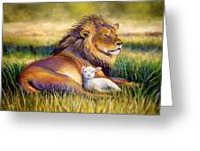 The Kingdom Of Heaven Greeting Card by Susan Jenkins