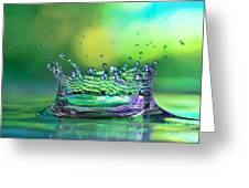 The Kings Crown Greeting Card by Darren Fisher