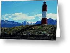 The Last Lighthouse ... Greeting Card by Juergen Weiss