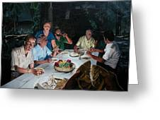 The Last Supper Greeting Card by Dave Martsolf