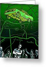 The Life Of A Repo Man Is Always Intense Greeting Card by Jeff DOttavio