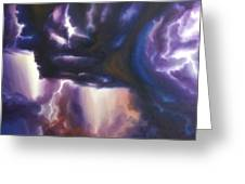 The Lightning Greeting Card by James Christopher Hill