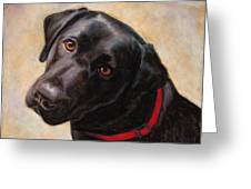 The Look Of Love Greeting Card by Billie Colson