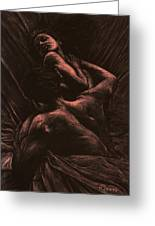 The Lovers Greeting Card by Richard Young