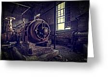 The Machine Greeting Card by Everet Regal