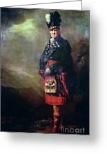 The Macnab Greeting Card by Sir Henry Raeburn