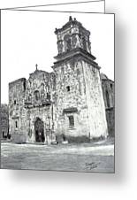 The Mission Greeting Card by Barry Jones
