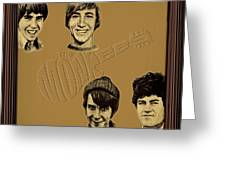 The Monkees  Greeting Card by Movie Poster Prints